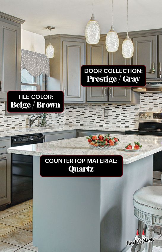 Kitchen Magic Your Kitchen Transformed Like Magic In 2020 Kitchen Remodel House Flooring Brown Countertop