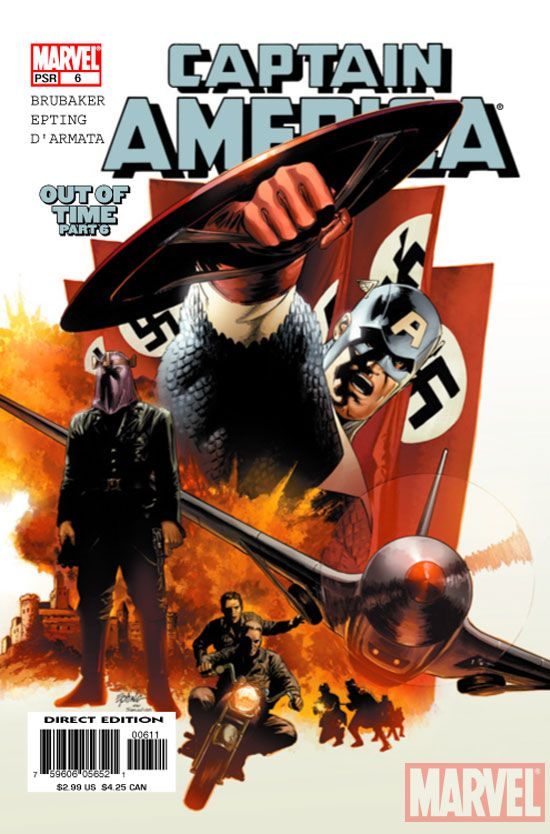 Captain America #6 IST BUCKY WINTR SOLDIER