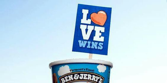 Ben&Jerry's LoveWins
