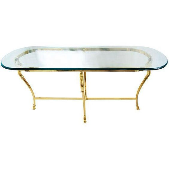 oval brass console table oval brass console table The MCT Selection of Oval Brass Console Table Designs 8b18ca27019151ef65afab248750aaf0
