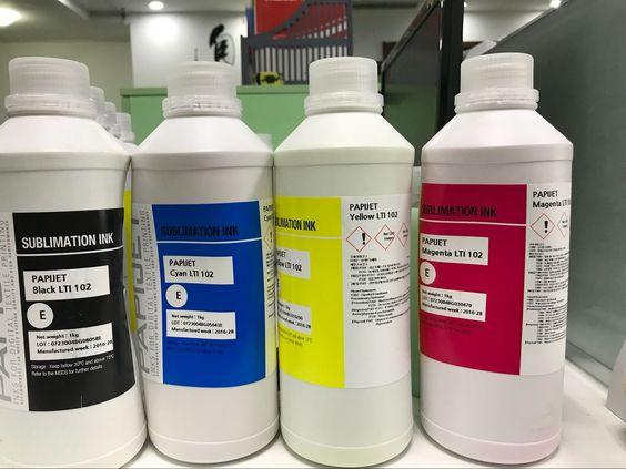 Papijet LTI ink to be used direct printing onto fabrics