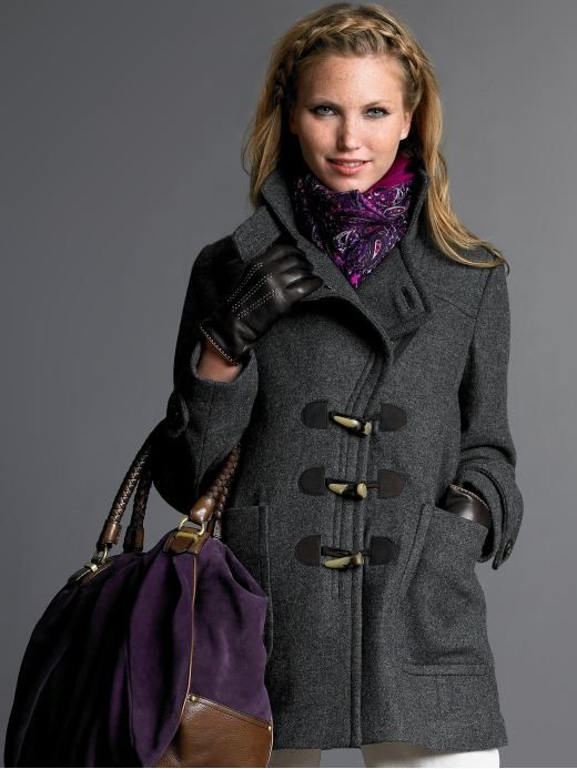 images of coats for women | duffle coat welcome the cold weather ...