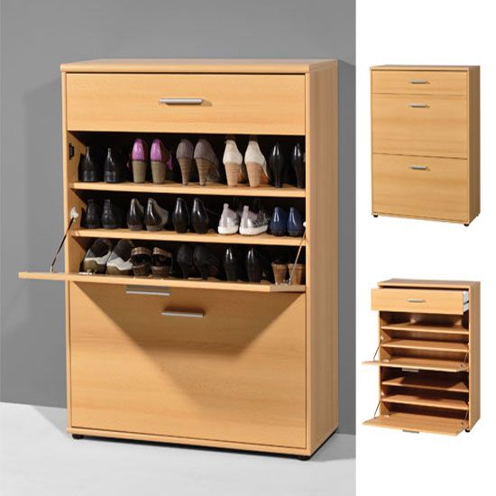 Bigfoot Beech Shoe Storage Cabinet Shoe Storage Ideas