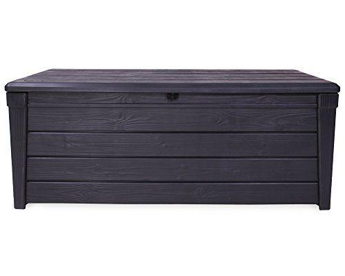 Moderne Und Robuste Gartenbox In Schonem Holzdesign Fur Den Ausserbereich Garten Terrasse Oder Balkon Zu Outdoor Furniture Outdoor Storage Outdoor Storage Box