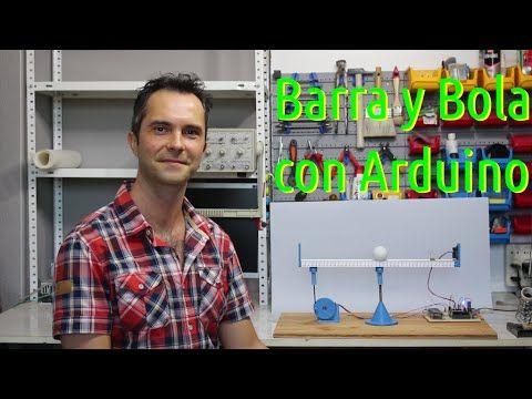 Control Pid De Un Sistema Barra Y Bola Con Arduino Vídeos Y Código Calibración Del Sensor Ajuste De Kp Kd Y Ki Arduino Men Casual Mens Tops
