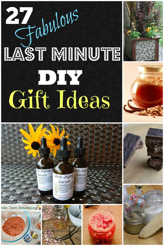 27 Last Minute DIY Gift Ideas - | Mothers, Last minute and ...