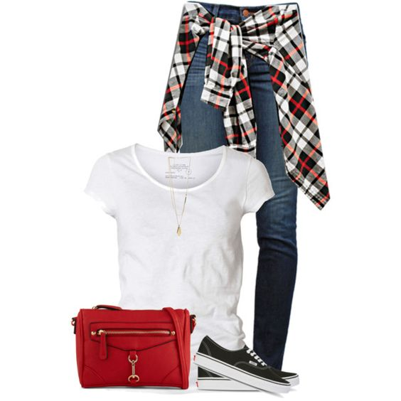 Plaid for Fall by daiscat on Polyvore featuring AllSaints, J Brand, ALDO, Kenneth Cole and Vans