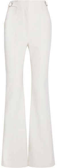 Proenza Schouler - Stretch-wool Flared Pants - Off-white