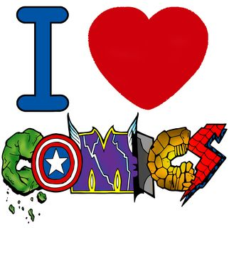 Vandal - I <3 comics by demoose21 Available to buy on… #tshirt #comic #marvel #dc #brasil #brazil