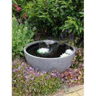 Vasque de jardin avec pompe jet d'eau Mini-Bassin III (UBBINK)…