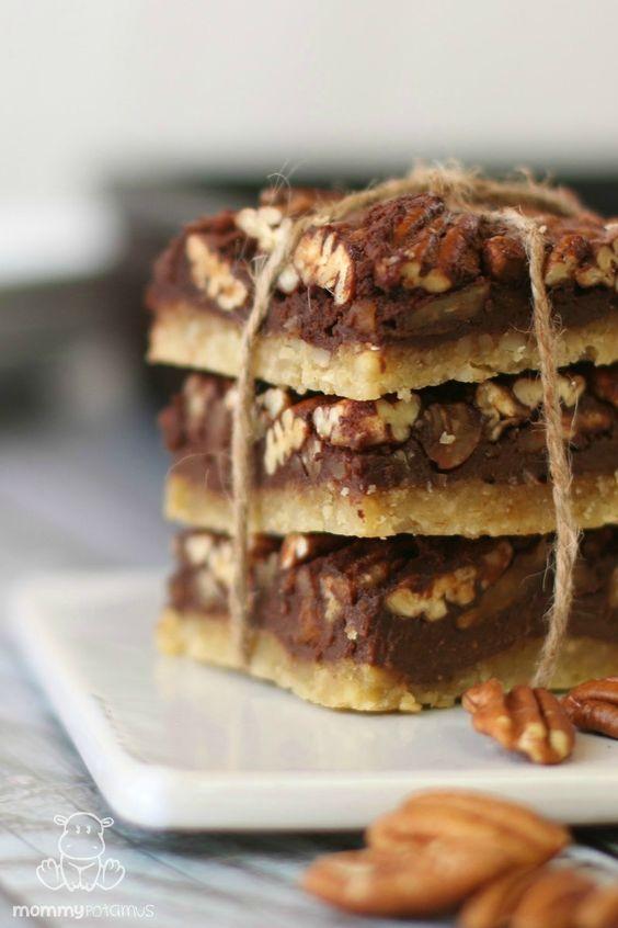 Pecan pie bars, Maple pecan pie and Pecans on Pinterest