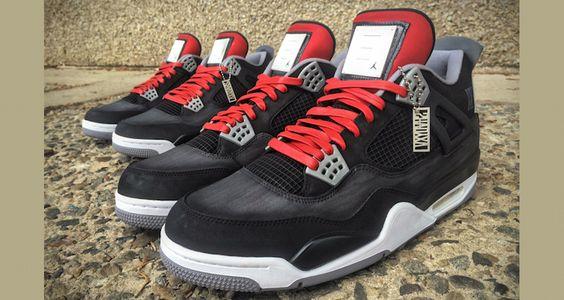 "e66f314526a5 Nights"" Customs by Kickstradomis Air Jordan 4 ""Shady XV"" Customs ... Air  Jordan 5 ""Purple Urkel"" ..."