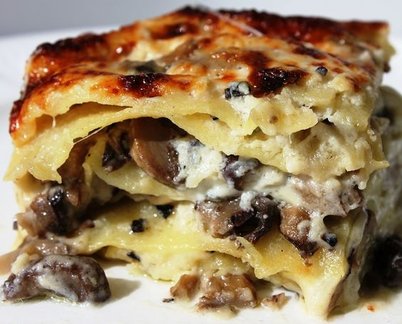 Sunday Pasta® Recipe: Lasagna ai Funghi e Tartufi (Mushrooms)