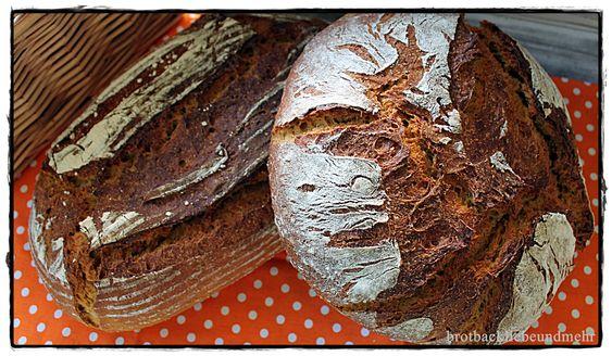 Kartoffel-Kürbis-Brot mit Weizensauerteig und Lievito Madre brotbackliebeundmehr Foodblog