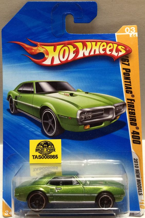 (TAS008865) - Mattel Hot Wheels Racing Stock Car - ';67 Pontiac Firebird 400