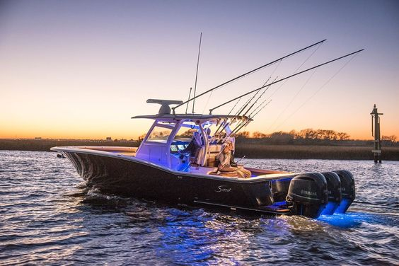 Scout luxury center console boats pinterest luxury for Luxury fishing boats