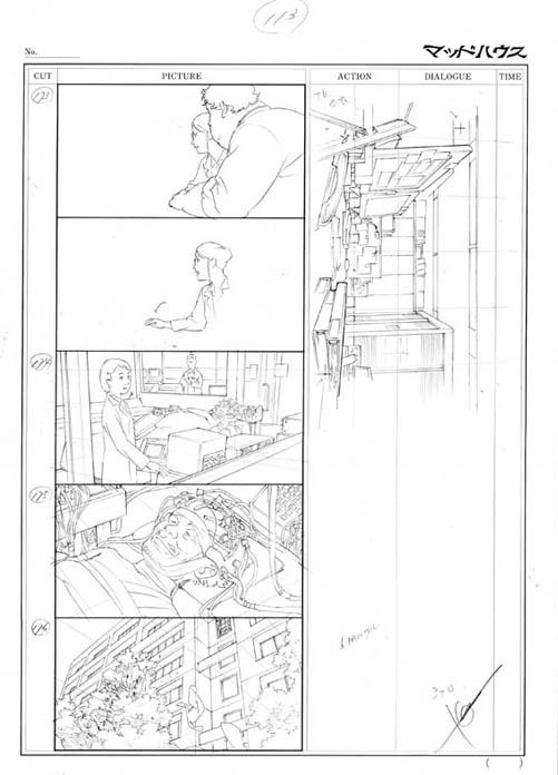 paprika_storyboard003 Iu0027m Board Pinterest - anime storyboard