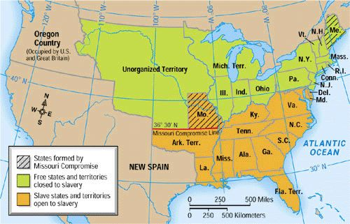 The Missouri Compromise Of Congressman Henry Clay Played A - Louisiana us representative map