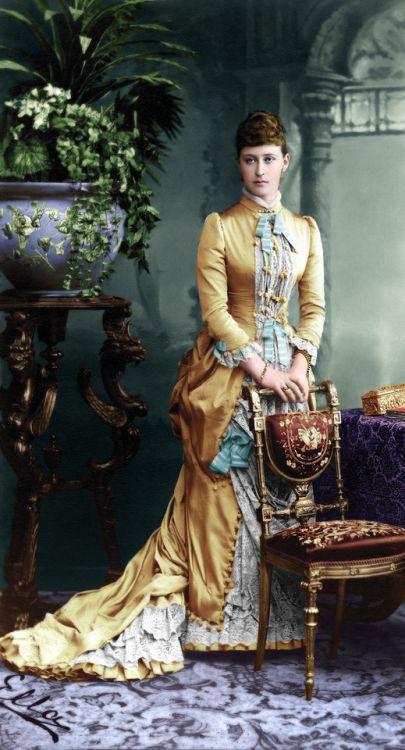 Grand Duchess Elizabeth Feodorovna of Russia, 1884.