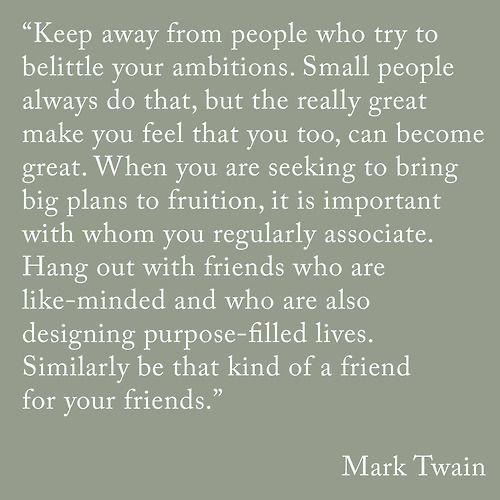 Indeed, Mr. Twain.
