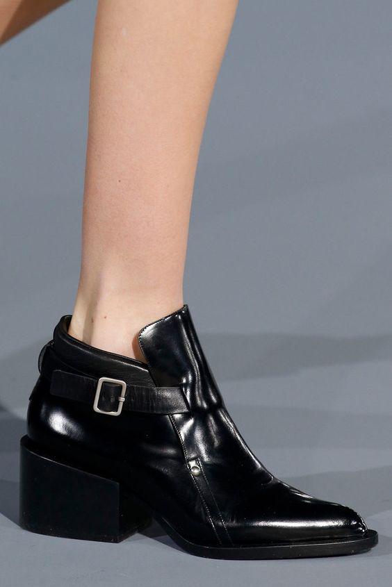 Modest Black Stylish Shoes