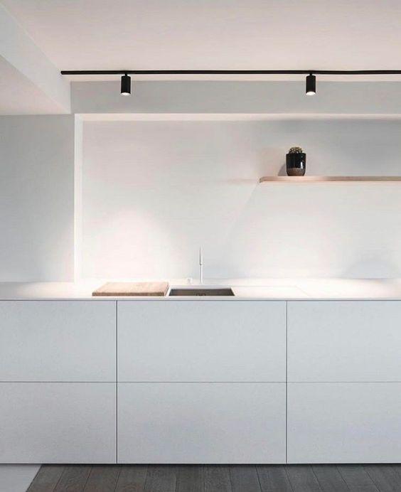 キッチン スポットライト例