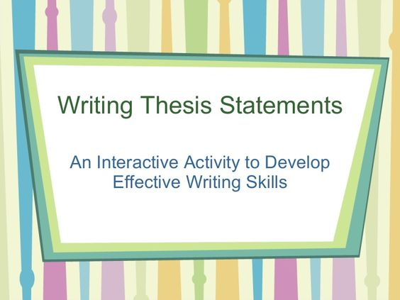 help developing a thesis statement A thesis statement generally appears at the end of the introductory paragraph let's say you started developing your ideas with the following working thesis: could you help with my thesis for an essay on guilt in scarlet letter.