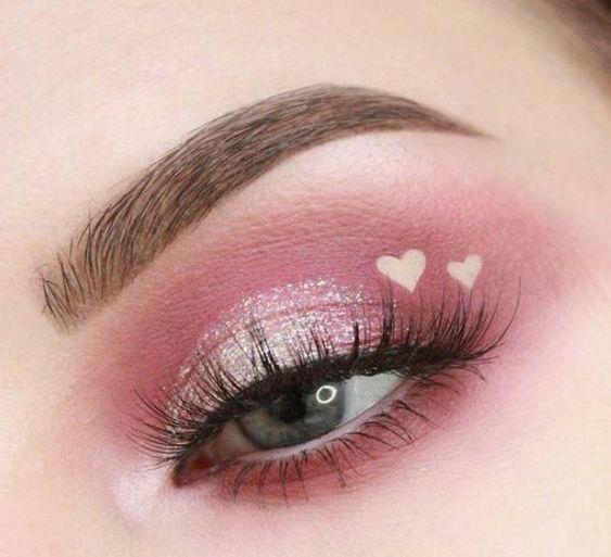 Simple Makeup Ideas Festival Makeup Eyeshadows Prom Makeup Looks Glitter Eye Makeup Prom Makeup Looks Eye Makeup
