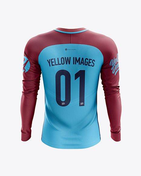 Download Men S Soccer Team Jersey Ls Mockup Back View In Apparel Mockups On Yellow Images Object Mockups Design Mockup Free Clothing Mockup Team Jersey