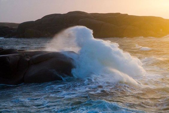 Lysekil, stormen Egon kommer, Jan 11 2015 Foto: Lasse Nyfjäll