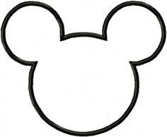 Mickey Head Disney Diy For Minnie Mouse Head Template Mickey Mouse Template Mickey Mouse Silhouette Mickey Mouse Quilt