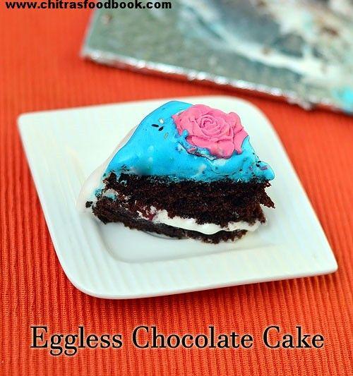 Eggless Chocolate Cake Recipe Eggless Chocolate Cake Chocolate Cake Cake Recipes