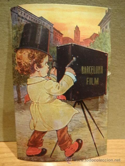 BARCELONA FILM. DEL INTERIOR DE LA CÁMARA SALEN 10 MINI IMÁGENES DE BARCELONA.