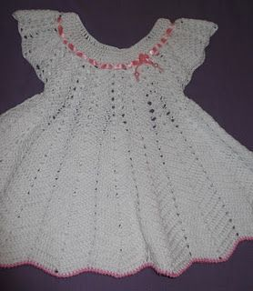 Vestido de Bebê em Crochê - VilaClub