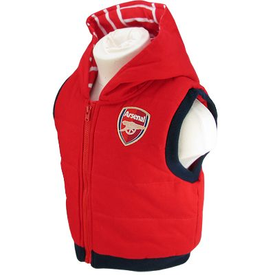 Arsenal FC Baby Gilet 9-12 Months | Arsenal FC Gifts | Arsenal FC Shop