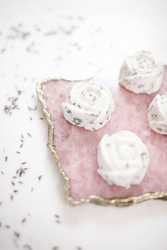 DIY Lavender bath bombs you can make at home: