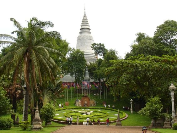 Chùa Wat Phnom Campuchia
