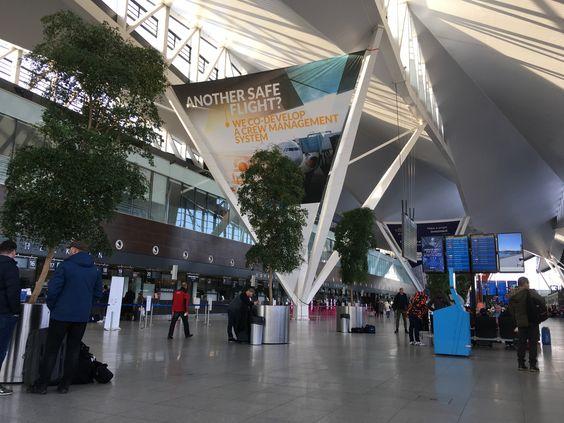 Внутри аэропорта Гданьска