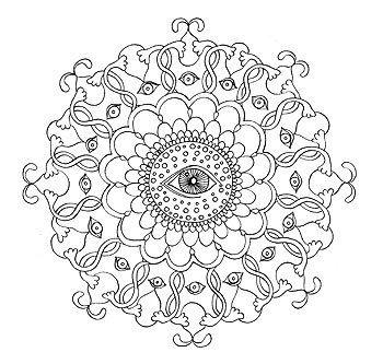 Mandala Coloring Pages By Thaneeya McArdle Mandala