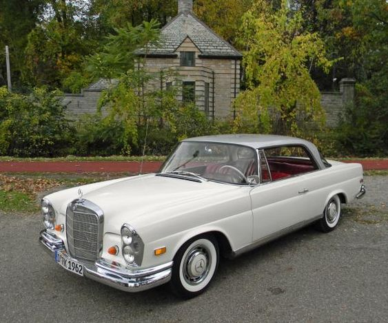 1962 mercedes benz 220se white exterior with bloody red for 1962 mercedes benz