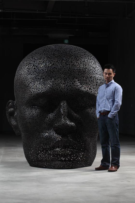 Seo Young Deok - Chain Sculptures