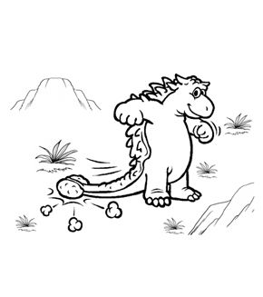 Free Online Allosaurus Colouring Page - Kids Activity Sheets ...