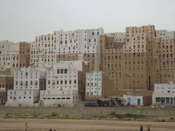 El nuevo Manhattan en el Desierto de Arabia - YEMEN