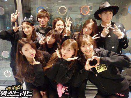 [Lovelyz] 141203 K.Will's YoungStreet Radio (11p)