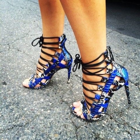 Aquazzura Amazon Lace Up Sandals | Spotted on @vanityfair | Sexy ...