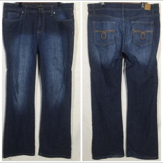 """BCBG Boot Cut Jeans Look and feel brand new with no signs of wear. They are made of 98% cotton & 2% spandex. The inseam is 31"""". BCBG Jeans Boot Cut"""