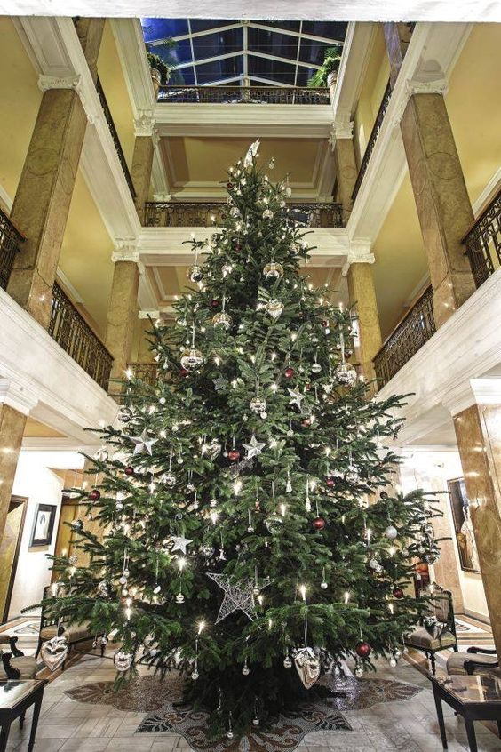 xmas at the Sacher  Hotel