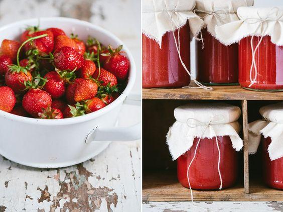Fruchtige Erdbeermarmelade