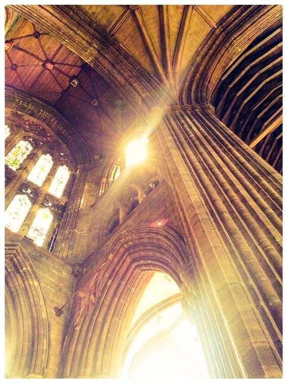 A section of Glasgow Cathedral