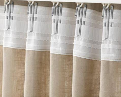 Ajouter Backtabs A Haut De Rideau Curtains Panel Curtains
